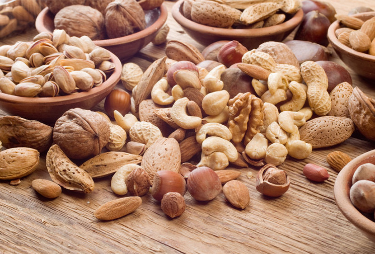 орехи и арахис